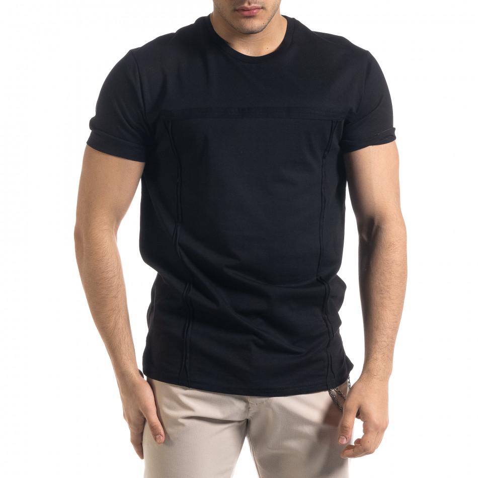 Tricou bărbați Vae Victis negru tr110320-77