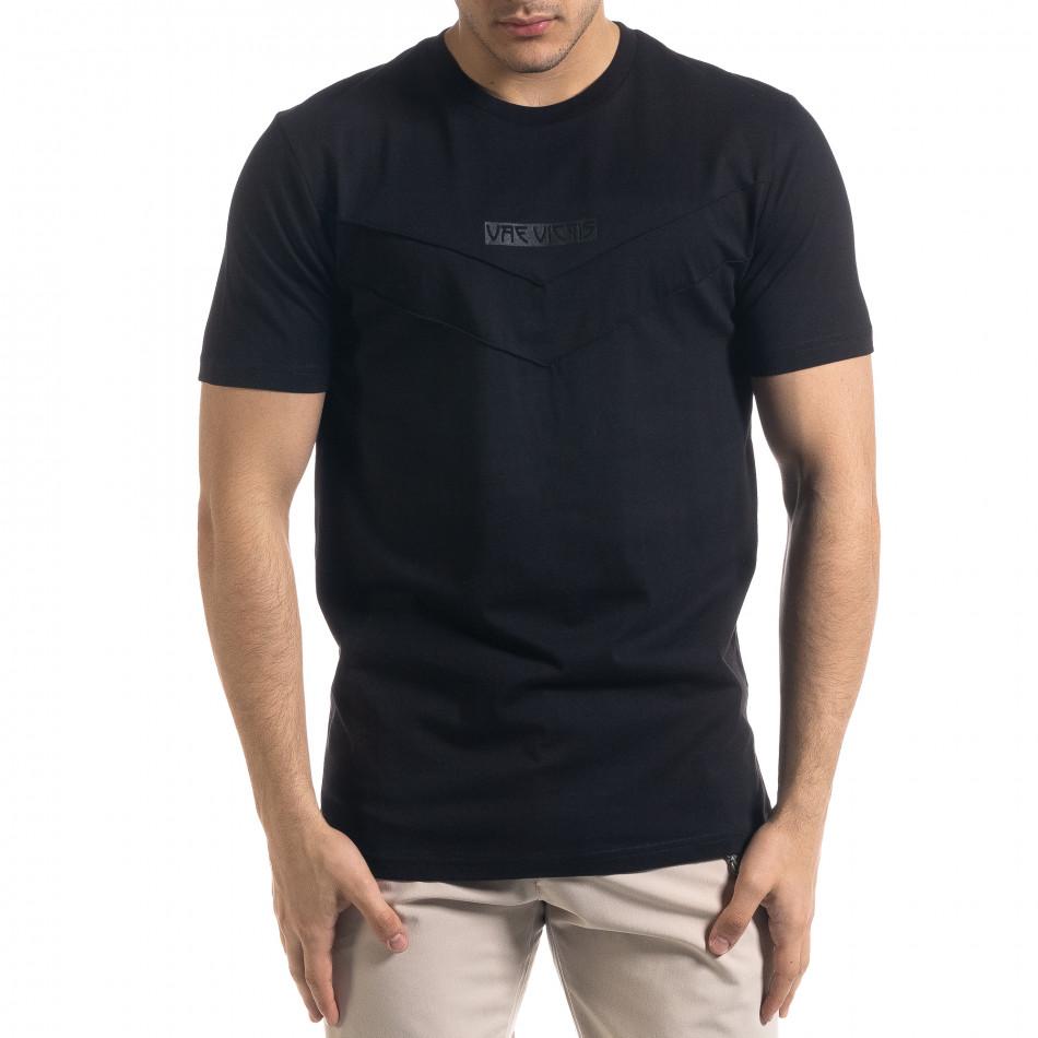 Tricou bărbați Vae Victis negru tr110320-76