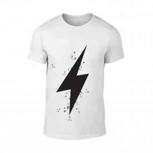 Tricou pentru barbati Thunder alb