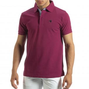 Polo shirt roșu pentru bărbați