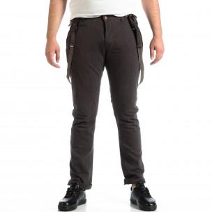 Pantaloni bărbați House gri
