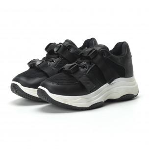 Pantofi sport  de dama cu șireturi  2