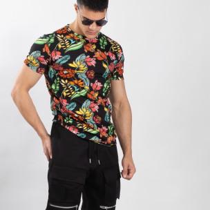 Tricou floral pentru bărbați