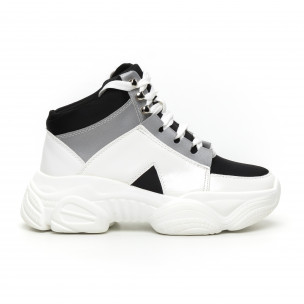 Pantofi sport înalți Chunky pentru dama