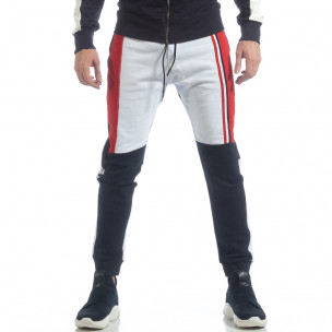 Pantaloni de trening în trei culori pentru bărbați  2