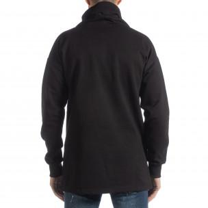 Bluză oversized matlasată cu guler mare  2