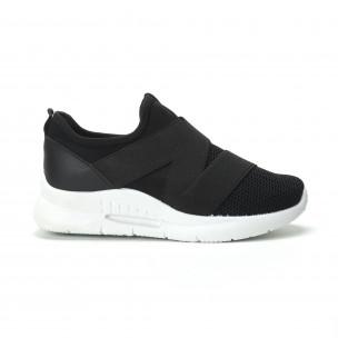 Pantofi sport Slip-on de dama cu elastic
