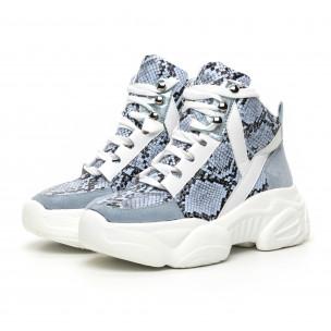 Pantofi sport înalți Chunky pentru dama 2