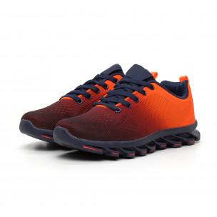 Adidași Blade portocaliu neon pentru bărbați Bazaar Charm 2