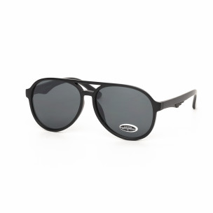 Ochelari de soare negri  Aviator