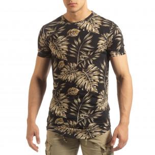 Tricou pentru bărbați cu motive tropicale
