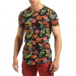 Tricou floral pentru bărbați  2