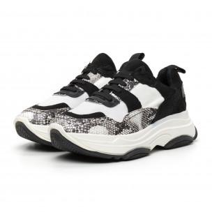Pantofi sport combinați de dama design Chunky 2