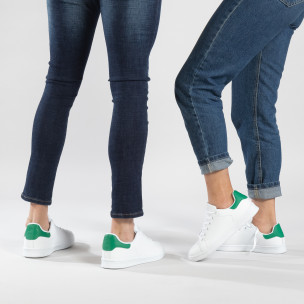 Teniși Basic cu călcâi verde pentru cupluri
