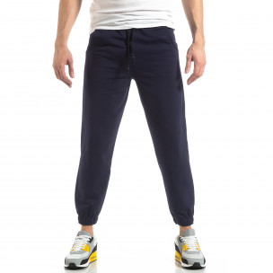 Pantaloni sport bărbați Duca Homme albastru 2