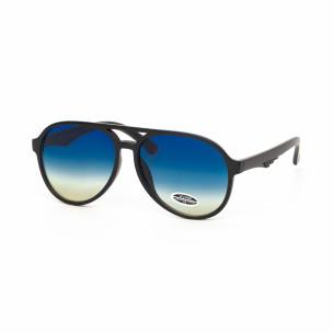 Ochelari de soare albaștri Aviator