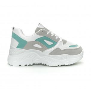 Pantofi sport de dama Chunky în 3 culori 2