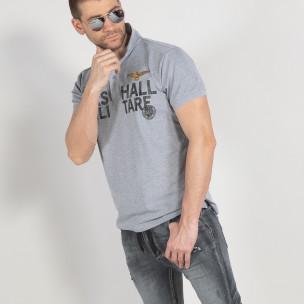 Tricou bărbați Marshall gri