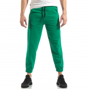 Pantaloni sport bărbați Duca Homme verde 2