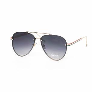Ochelari de soare Aviator cu lențile gri