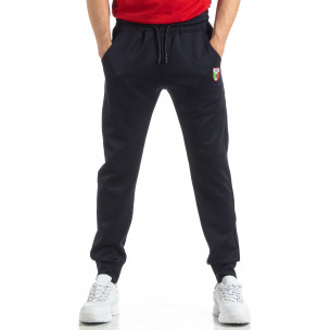Pantaloni sport de bărbați Marshall Angel albaștri