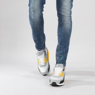 Adidași pentru bărbați colorați cu pernă de aer