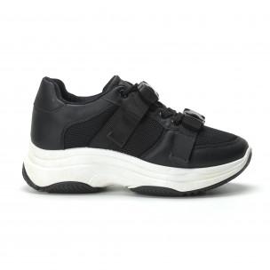 Pantofi sport  de dama cu șireturi