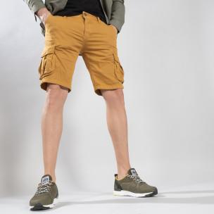 Pantaloni scurți bărbați Y-Chromosome camel