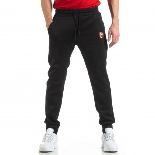 Pantaloni sport de bărbați Marshall Angel negri