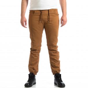 Pantaloni bărbați CROPP camel