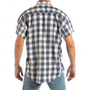 Cămașă de bărbați Regular RESERVED cu mânecă scurtă  2