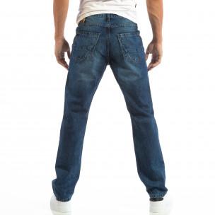 Blugi Regular fit pentru bărbați cu efect de decolorare 2