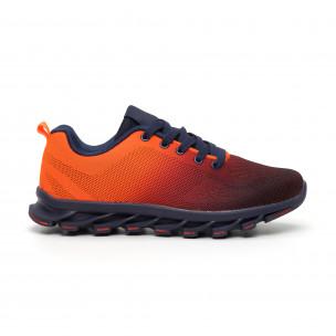 Adidași Blade portocaliu neon pentru bărbați Bazaar Charm