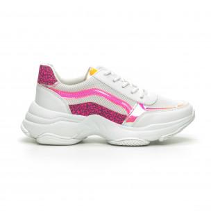 Pantofi sport Chunky de dama cu părți neon Marquiiz