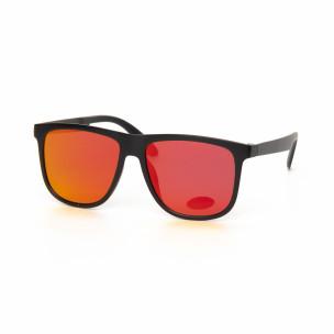 Ochelari de soare Traveler în roșu tip oglindă