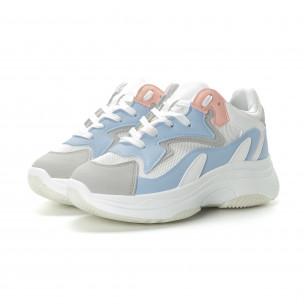 Pantofi sport de dama în 4 culori cu talpă înaltă 2