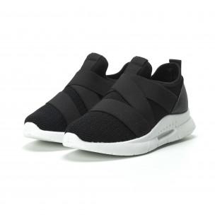 Pantofi sport Slip-on de dama cu elastic 2