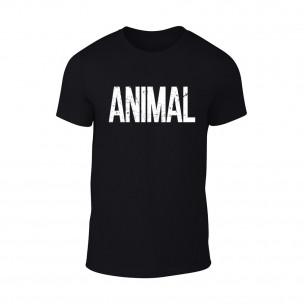 Tricou pentru barbati Animal negru