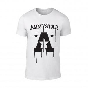 Tricou pentru barbati Armystar alb