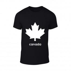 Tricou pentru barbati Canada negru