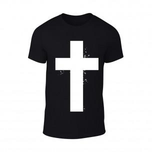 Tricou pentru barbati Cross negru
