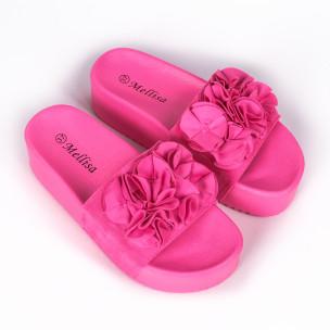 Papuci de dama Mellisa roz 2