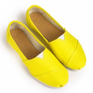 Espadrile bărbați Basic galbene