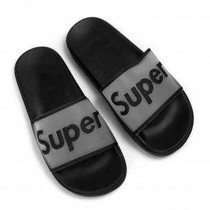 Papuci de dama Queen Vivi negri