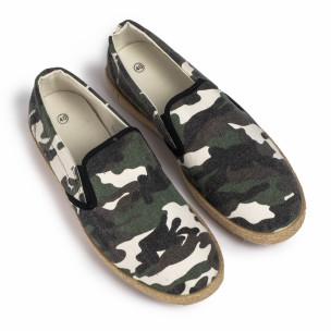 Espadrile bărbați Buondi & Shoes camuflaj 2