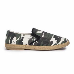 Espadrile bărbați Buondi & Shoes camuflaj