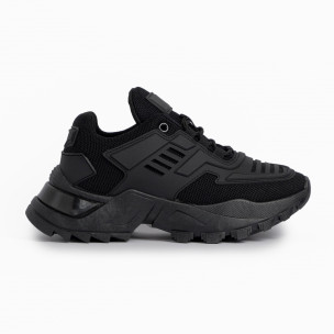 Pantofi sport de dama Sergio Todzi negre