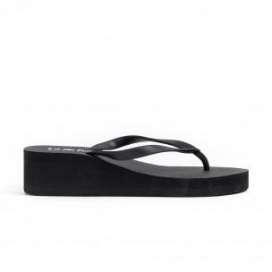 Papuci de dama D&M negri