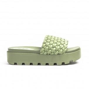 Papuci de dama Malien verzi 2