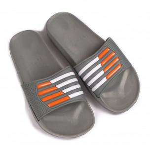 Papuci bărbați Jomix gri